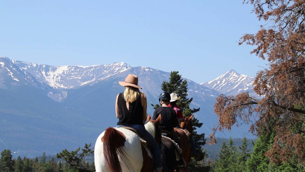 Horseback Riding in Jasper